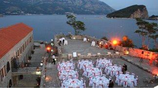 Montenegro Convention Budva Citadela set up