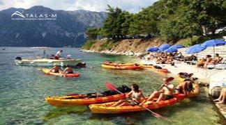 Kayaking in Boka Bay