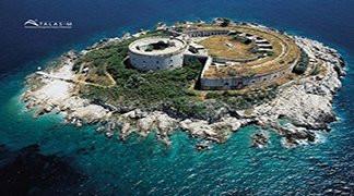 Mamula Island, Adriatic Coast