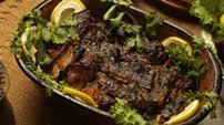 Grilled Eel - Montenegro Local Food