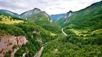 Montenegro incentive programs Tara river canyon