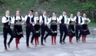 Folkloric dance in Cetinje
