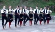 Folkloric dance in Cetinje