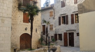 Kotor Old Town settlement