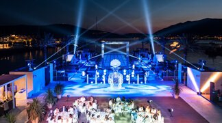 Glamorous Weddings in Montenegro - Porto Montenegro