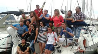 Group Sailing photo