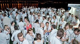 Netlight Party on Ferry Boat