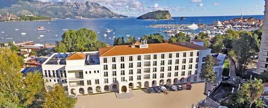 New Four Star Hotel Budva in Montenegro