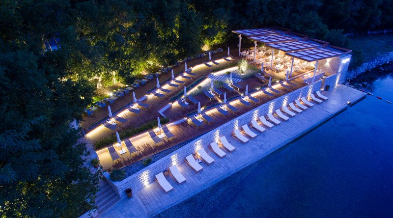 Corporate events in montenegro summer time beach clubs for Hotel design kotor