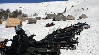 Perfect Winter Incentive Destination - Ski mobiles or, Snow cats safari